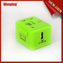 Wonplug new arrived mini size usb charger japan adapter