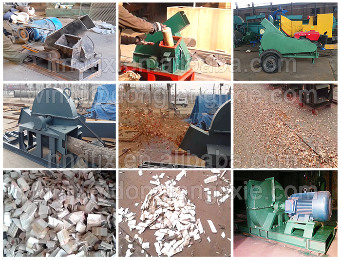 DTP420 low power disc wood chipping machine