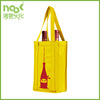 Tote Gusset non woven Bags For Wine