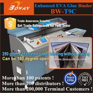A3 A4 Size 600 pages 200-300 books/hour hot Strong EVA glue copy binding machine