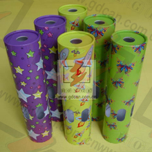 Hot !Colorful Promotional Gift Paper Kaleidoscopes For Children