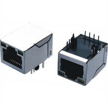 best price single port rj45 connector with 90 degree