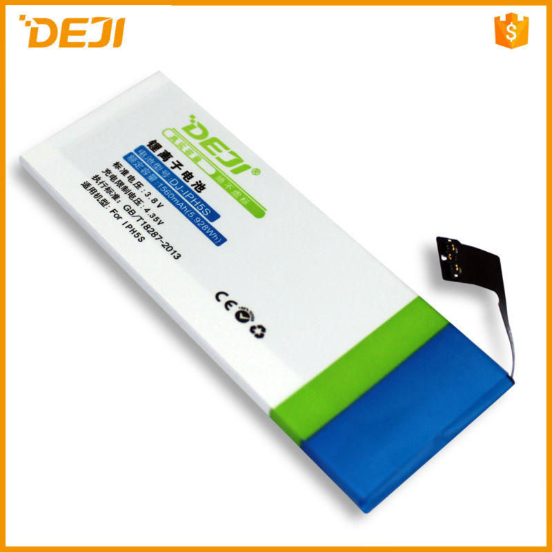 For iPhone 5G for iphone 5 1440mAh 3.8V Lithium Polymer Replacement Battery