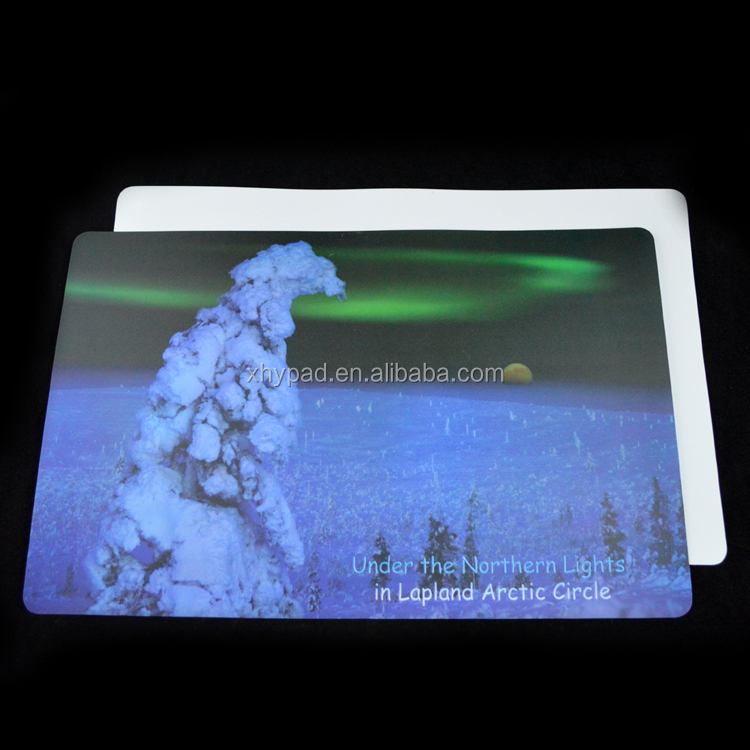 plastic promotional commercial placemats
