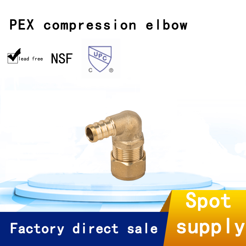 factory price CW617n brass pex connect fittings of rehau style for pex pipe