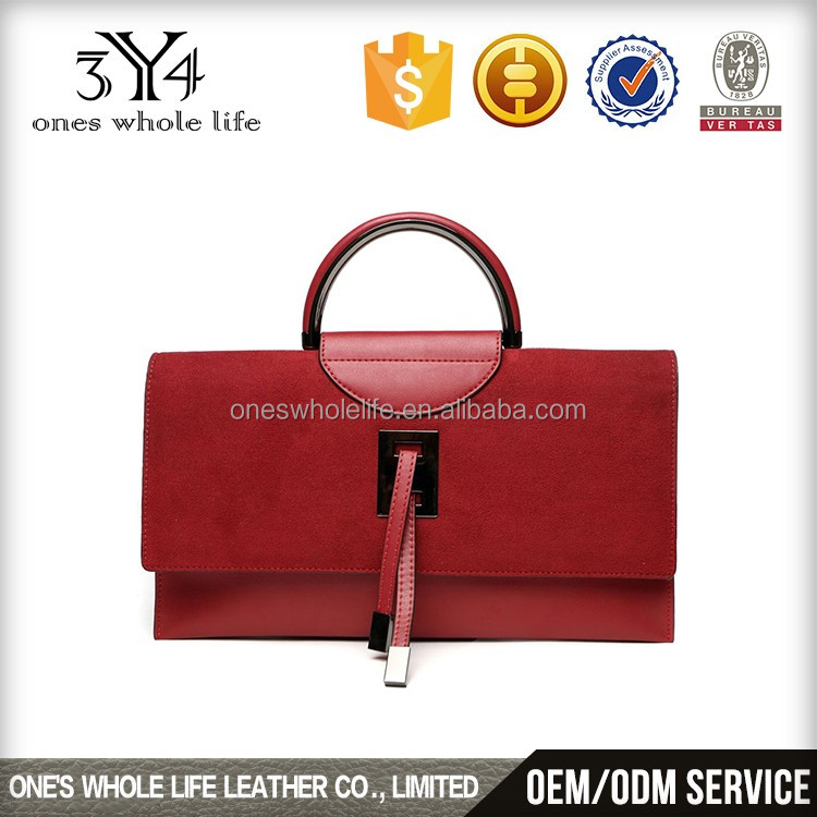 Retro style Lady round handle bags, messenger bag, handbag from china supplier