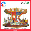 China Elong new style carousel ride merry go round for theme park 12 seats luxury carousell
