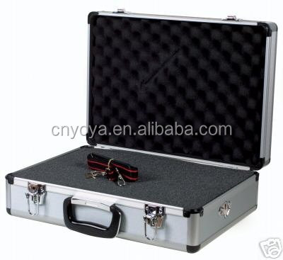 Factory price long dice-cutting foam aluminum case with foam padding