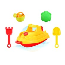 boat with accessories in net Toronto 5PCS summer water beach toy For Babies
