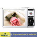 "Winait nice choice used camera with 2.4"" LCD display 10s self-timer lithium battery digital camera"