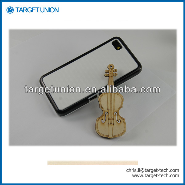factory price for Blackberry Z10 TPU+PC case