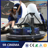 2016 CIAE Exhibition 9D VR Simulator Egg 9D Virtual Reality Simulator Theme Park Equipment For Sale