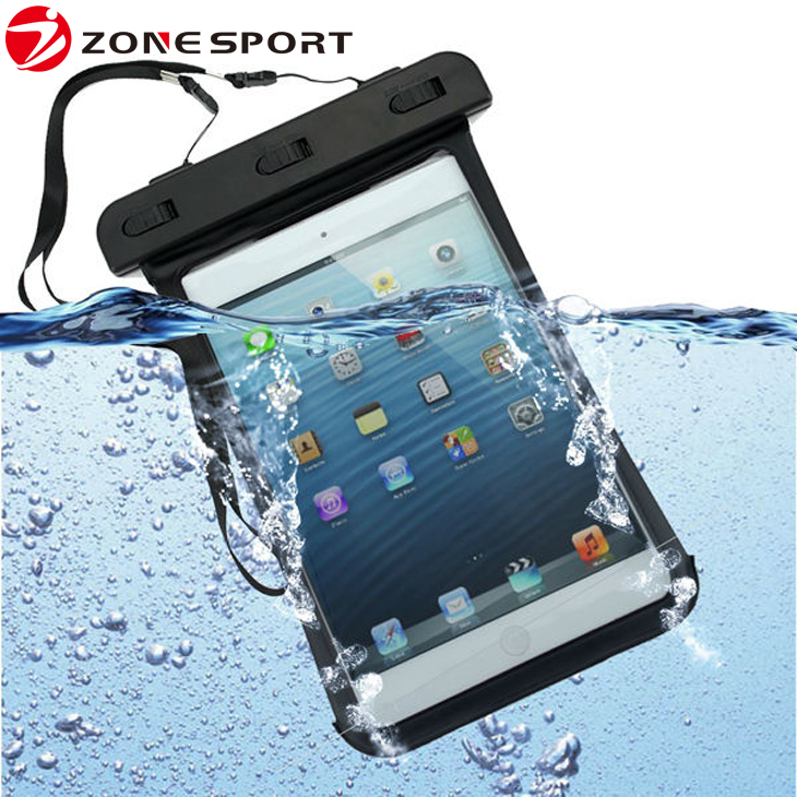 2016 new products waterproof bag for Apple iPad mini,waterproof tablet pc case for tablet android