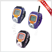 1 pairs multicolor mini watch walkie talkie RD-008 wristwatch 2 way radio Multi Frequency optional