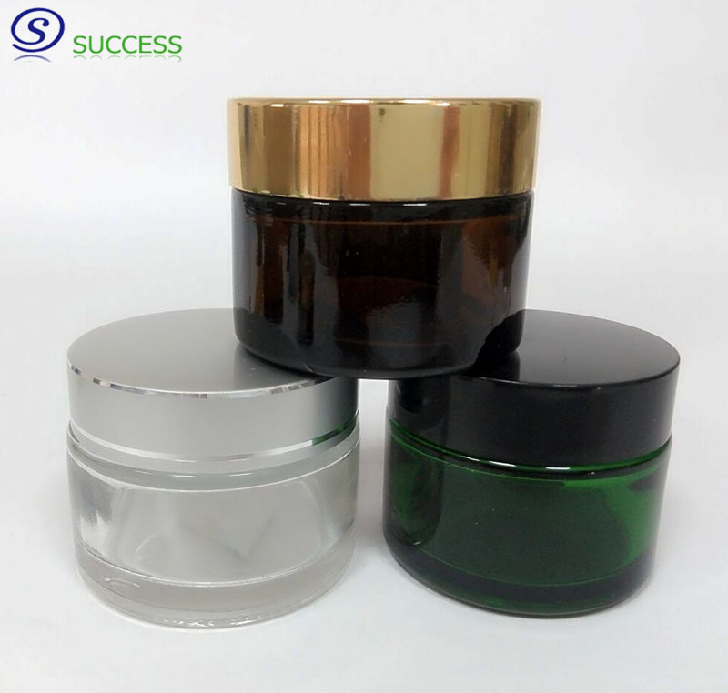 Small Order Series Cosmetics Glass Jars 100g