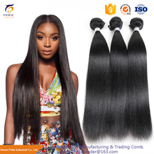 Top Quality 7A Grade #1B Virgin Malaysian Straight Hair, 100% Remy Human Hair