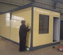chinese manufacturering good quality smart layout prefabricated house export to philippines