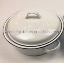 Enamel Coated pot,Enamel roasting Pan ,Enamel Round Roaster , round self basting roaster,Roast chicken machine,