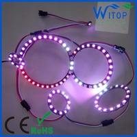 DC5V LED Ring Halo 5050 RGB ws2812b sk6812 rgb halo rings 40mm 50mm 60mm 70mm 80mm 90mm 100mm