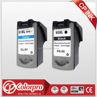Colorpro factory ink cartridge PG50 CL51 compatible for Canon ip2200 mp150 mp160 mp170