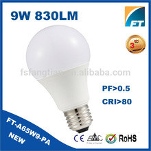 Trending hot products 2016 plastic e27 9w 12v china led bulb