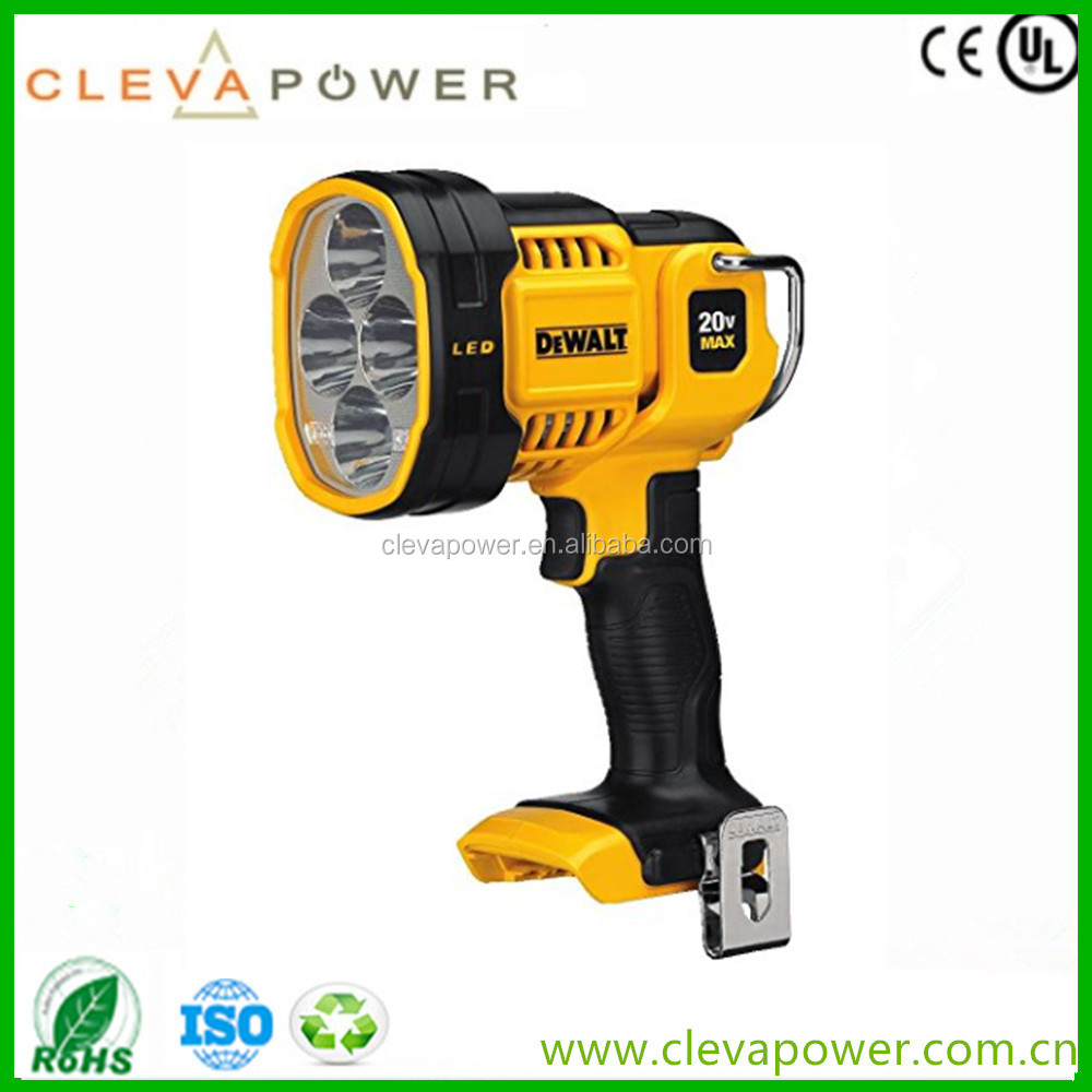 CLEVA DEWALT DCL043 20V li-ion Battery for MAX Jobsite LED Spotlight