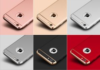 UK Hot Sales Electroplating 3 In 1 Detachable PC Case For Iphone6