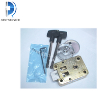 atm machine ATM parts NCR lock on sale 009-0008257 Safety Box Lock Combination Vault Metal Key and Lock 0090008257