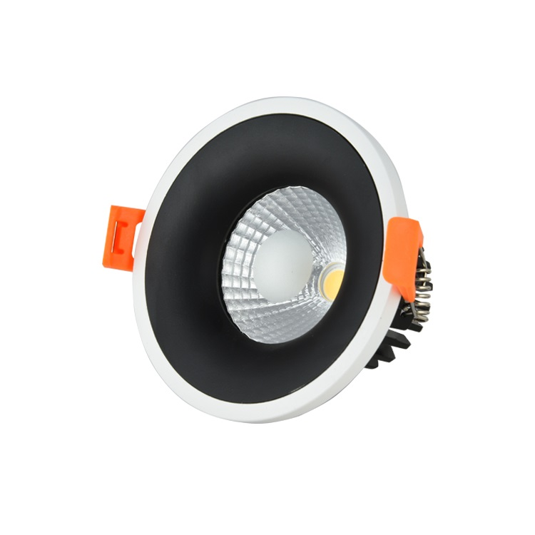 High quality Embedded 7w cob juno led lamp <strong>downlight</strong> with spring clip,led lighting