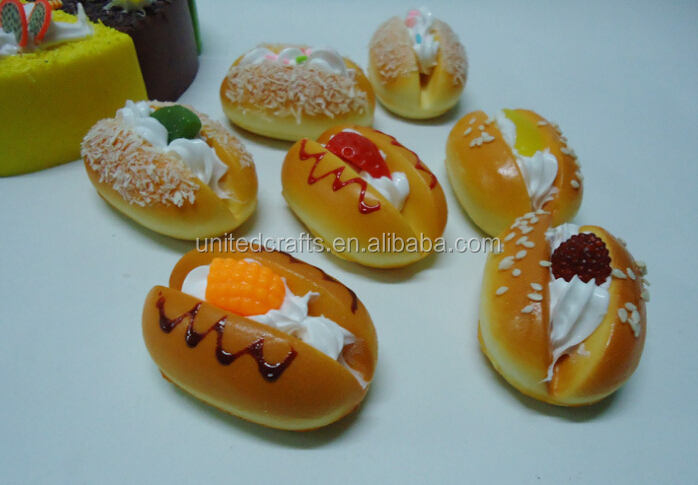 decorative artificial bread fake bread