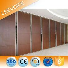 Hanging Movable Acoustic Soundproof Glass Partition