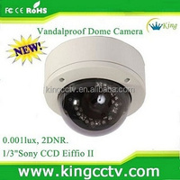 700tvl IR Array sony ccd vandalproof dome camera(HK-SG370)
