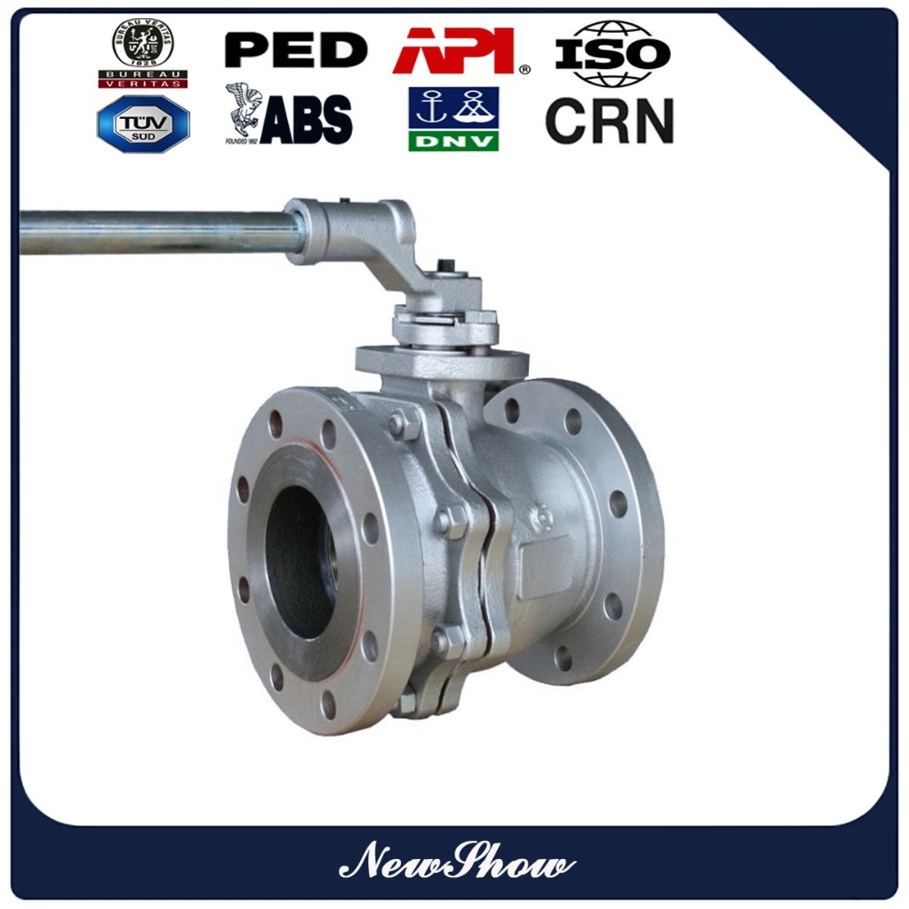 Forged high pressure hydraulic 2 inch stainless steel ball valve