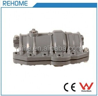 Plastic Pipe Fittings PVC Saddle Repair Coupling for Water System ISO4422