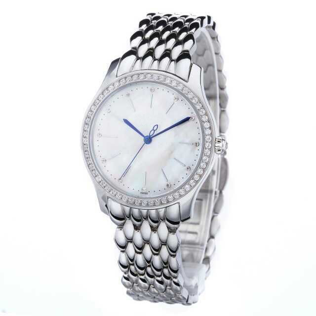 2015 Assisi own brand watch Factory Price Cheap Geneva Stainless Steel Wrist Watch for Ladies
