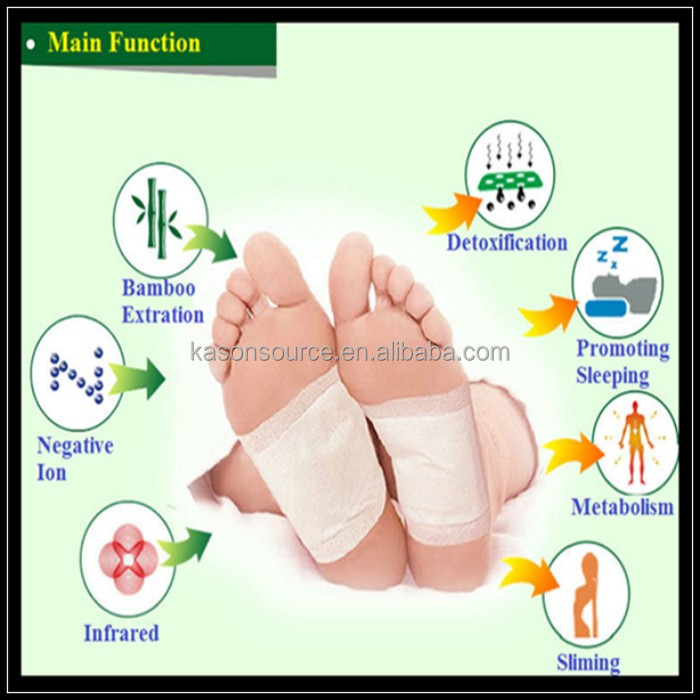 Chinese herbal home use detox foot patch wholesales