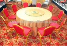 Banquet foldable round table for 8-10 seater YC-T01P