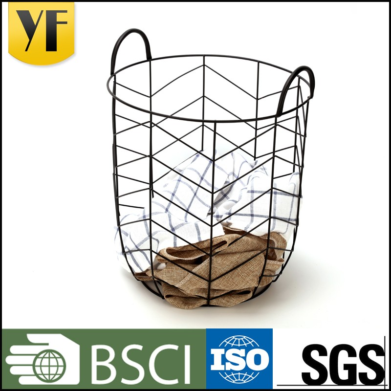 Hot China products handle cloth storage basket for sale