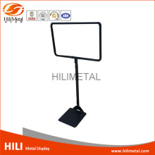 Supermarket Metal Floor Poster Frame a1 a2 a3 a4 Display Stand