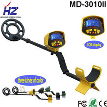 LCD display with light underground treasure hunter metal detector md-3010 ii