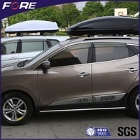New Alloy Plastic White / Black Roof Top Boxes For Cars