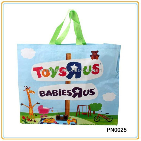 Eco Tote PP Laminated Nonwoven Bag PP Non woven Lamination Shopper Bag Non Woven Polypropylene Tote Bag