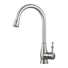 Water ridge stainless steel pull out kitchen faucet