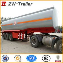 tri axle fuel tank semi trailer with high specification for sale