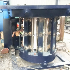 1 Ton 45 Minutes 1.5T Output Per Melt Steel Copper Lead Metal Melting Equipment