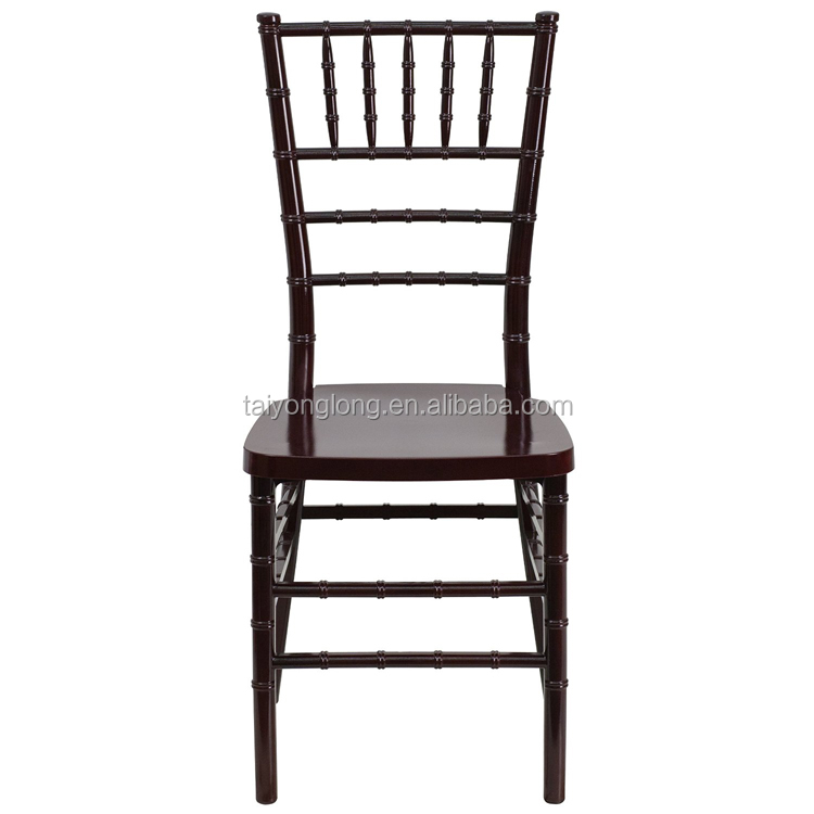Resin chiavari chair restaurant dining chair used restaurant table and chair