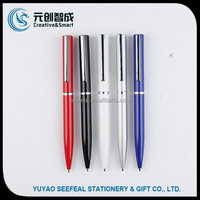 Twist action cheap ballpoint pen refill , promotional pen with logo