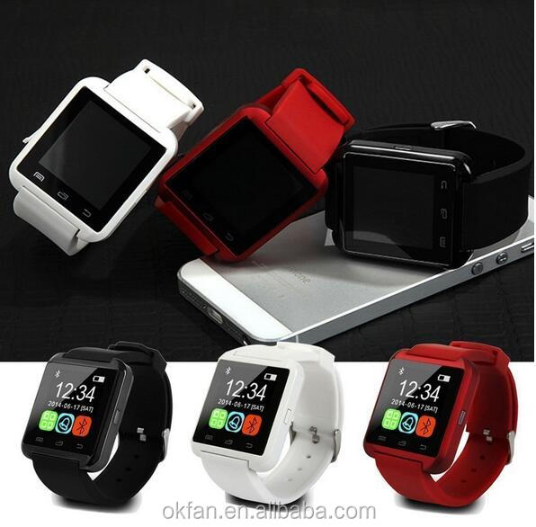 Cheapest touch screen u8 smart watch, phone calling smart bluetooth watch, bluetooth smart watch u8 for smartphone