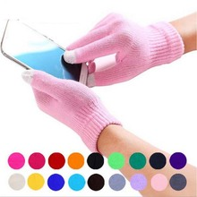 cheap winter gloves/touch screen sensitive gloves