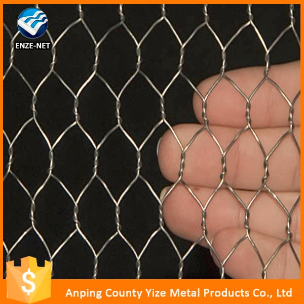 Cheap price 1/2 inch Galvanized Hexagonal Wire Netting/4ftX150ft Galvanized Hexagonal Chicken Wire Mesh (Hot sale)